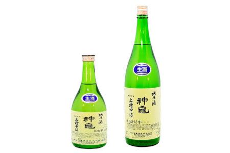 神亀 上槽中汲純米生酒 / Shinkame Agefune Nakakumi 720ml 1800ml