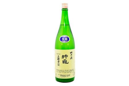 神亀 上槽中汲純米生酒 / Shinkame Funaguchi 1升