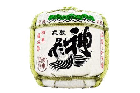 神亀 純米樽酒 / Shinkame Junmai Taruzake
