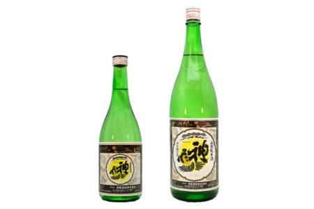 神亀 山廃純米酒 BLACKラベル(限定品) / Shinkame Yamahai BLACK Label 720ml 1800ml