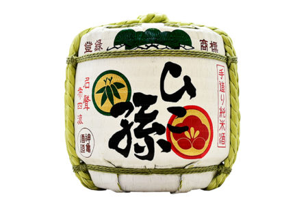 ひこ孫 純米清酒 菰樽/ Hikomago Junmai Seishu Komodaru